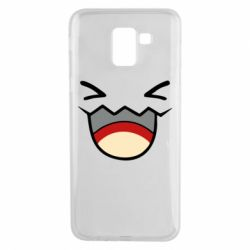 Чехол для Samsung J6 Pokemon Smiling - FatLine