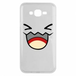 Чехол для Samsung J7 2015 Pokemon Smiling - FatLine