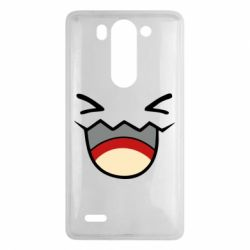 Чехол для LG G3 mini/G3s Pokemon Smiling - FatLine