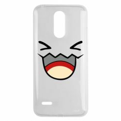 Чехол для LG K8 2017 Pokemon Smiling - FatLine