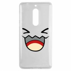 Чехол для Nokia 5 Pokemon Smiling - FatLine
