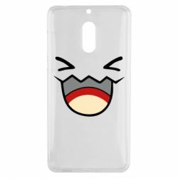 Чехол для Nokia 6 Pokemon Smiling - FatLine