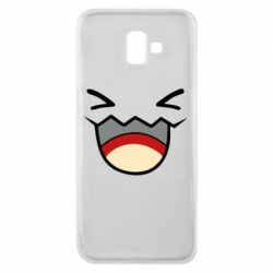 Чехол для Samsung J6 Plus 2018 Pokemon Smiling - FatLine