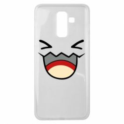 Чехол для Samsung J8 2018 Pokemon Smiling - FatLine