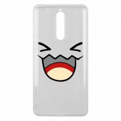 Чехол для Nokia 8 Pokemon Smiling - FatLine