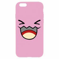 Чехол для iPhone 6 Plus/6S Plus Pokemon Smiling - FatLine