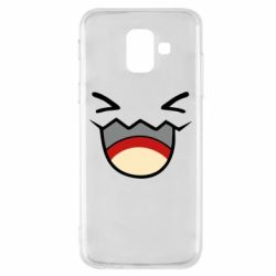 Чехол для Samsung A6 2018 Pokemon Smiling - FatLine