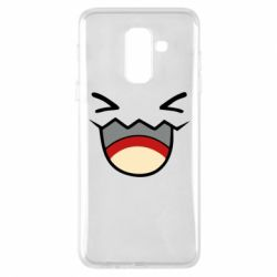 Чехол для Samsung A6+ 2018 Pokemon Smiling - FatLine