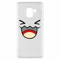 Чехол для Samsung A8 2018 Pokemon Smiling - FatLine