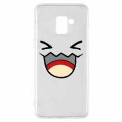 Чехол для Samsung A8+ 2018 Pokemon Smiling - FatLine