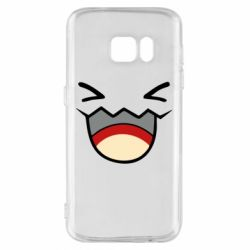Чехол для Samsung S7 Pokemon Smiling - FatLine