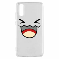 Чехол для Huawei P20 Pokemon Smiling - FatLine