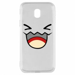 Чехол для Samsung J3 2017 Pokemon Smiling - FatLine