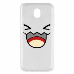 Чехол для Samsung J5 2017 Pokemon Smiling - FatLine