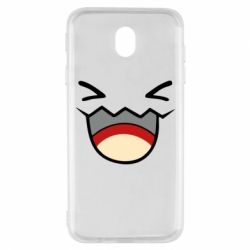 Чехол для Samsung J7 2017 Pokemon Smiling - FatLine