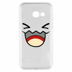 Чехол для Samsung A3 2017 Pokemon Smiling - FatLine