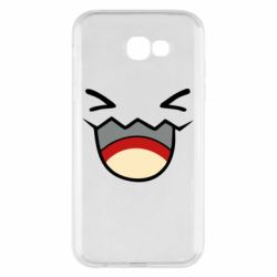 Чехол для Samsung A7 2017 Pokemon Smiling - FatLine