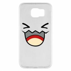 Чехол для Samsung S6 Pokemon Smiling - FatLine