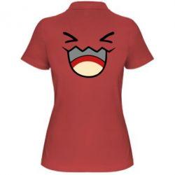 Женская футболка поло Pokemon Smiling - FatLine