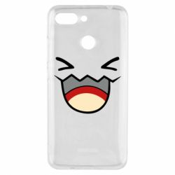 Чехол для Xiaomi Redmi 6 Pokemon Smiling - FatLine