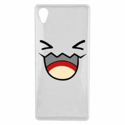 Чехол для Sony Xperia X Pokemon Smiling - FatLine