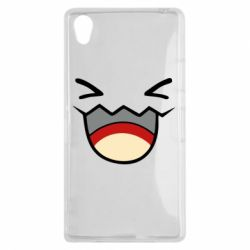 Чехол для Sony Xperia Z1 Pokemon Smiling - FatLine