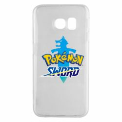 Чехол для Samsung S6 EDGE Pokemon sword