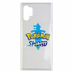 Чехол для Samsung Note 10 Plus Pokemon sword