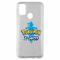 Чехол для Samsung M30s Pokemon sword