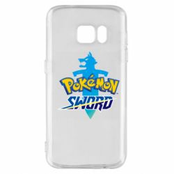Чехол для Samsung S7 Pokemon sword