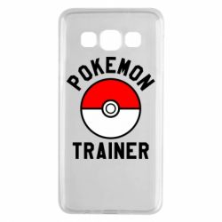 Чехол для Samsung A3 2015 Pokemon Trainer - FatLine