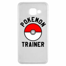 Чехол для Samsung A3 2016 Pokemon Trainer - FatLine
