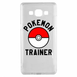 Чехол для Samsung A5 2015 Pokemon Trainer - FatLine