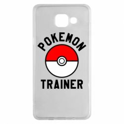 Чехол для Samsung A5 2016 Pokemon Trainer - FatLine