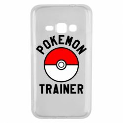 Чехол для Samsung J1 2016 Pokemon Trainer - FatLine