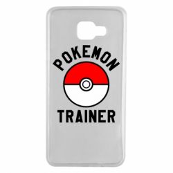 Чехол для Samsung A7 2016 Pokemon Trainer - FatLine
