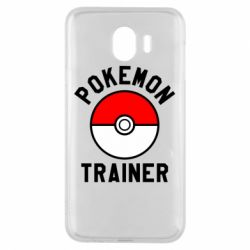 Чехол для Samsung J4 Pokemon Trainer - FatLine