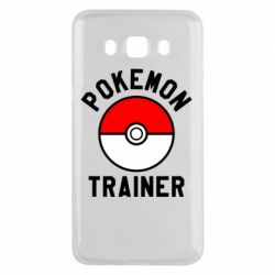 Чехол для Samsung J5 2016 Pokemon Trainer - FatLine