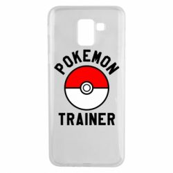 Чехол для Samsung J6 Pokemon Trainer - FatLine