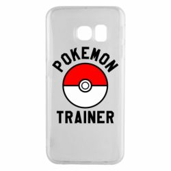 Чехол для Samsung S6 EDGE Pokemon Trainer - FatLine