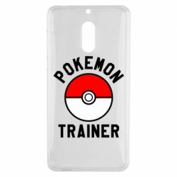Чехол для Nokia 6 Pokemon Trainer - FatLine