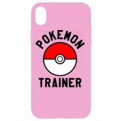 Чехол для iPhone XR Pokemon Trainer - FatLine