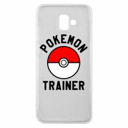 Чехол для Samsung J6 Plus 2018 Pokemon Trainer - FatLine