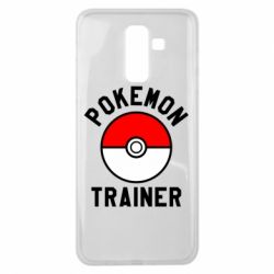 Чехол для Samsung J8 2018 Pokemon Trainer - FatLine