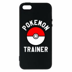 Чехол для iPhone5/5S/SE Pokemon Trainer - FatLine