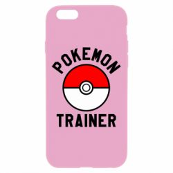 Чехол для iPhone 6 Plus/6S Plus Pokemon Trainer - FatLine