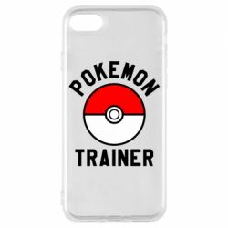 Чехол для iPhone 8 Pokemon Trainer - FatLine
