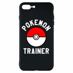 Чехол для iPhone 8 Plus Pokemon Trainer - FatLine