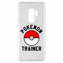 Чехол для Samsung S9+ Pokemon Trainer - FatLine