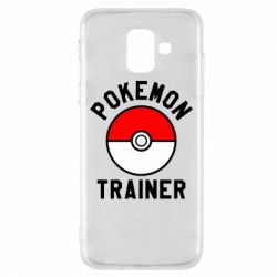 Чехол для Samsung A6 2018 Pokemon Trainer - FatLine